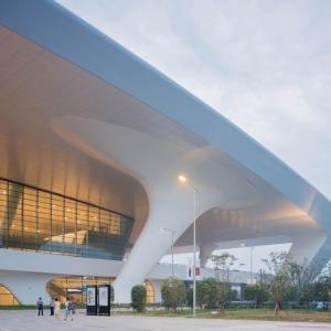 عکس - ایستگاه راه آهن شرق Hangzhou ، اثر تیم طراحی CSADI ، چین