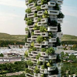 تصویر - دومین جنگل عمودی دنیا در سوئد - معماری
