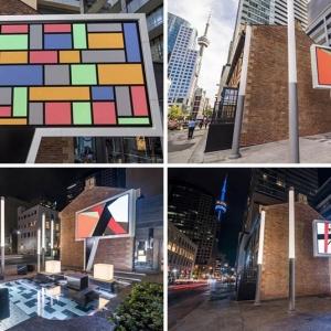 تصویر - نصب مجسمه Speech Bubble در تورنتو کانادا - معماری