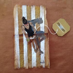 تصویر - 363 روز با چای،هنرنمایی بر روی چای های کیسه ای استفاده شده - معماری