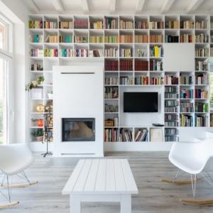 تصویر - 9 اتاق الهام بخش با دیوارهایی که از کف تا سقف طبقه بندی شده اند. - معماری