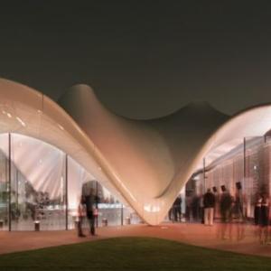تصویر - معمار عراقیتبار , اولین زن برنده مدال سلطنتی معماری - معماری