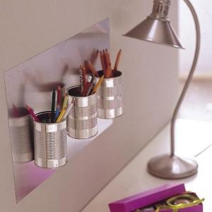 تصویر - ایده هایی برای سازماندهی آسان تر تجهیزات میز کار - معماری