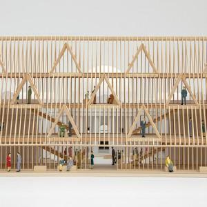 عکس - معماری غیرمتعارف در پاویون آمریکا در دوسالانه معماری ونیز