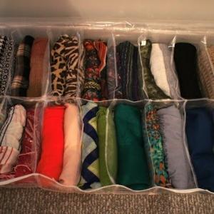 تصویر - راهکارهایی برای سازماندهی روسری ها - معماری