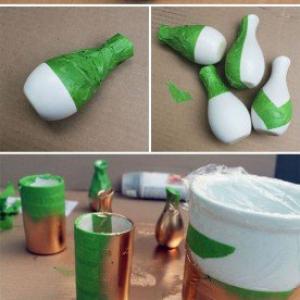 تصویر - 15 راه حل خانگی برای ساختن یک گلدان گل زیبا - معماری