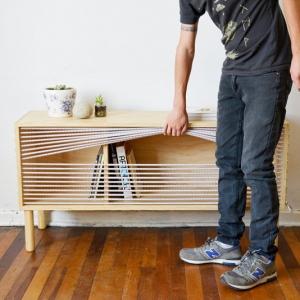 تصویر - میزی که با الهام از رینگ بوکس ساخته شده است. - معماری