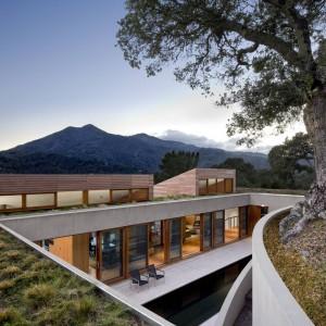 عکس - مسکونی Kentfield Hillside ، اثر تیم طراحی Turnbull Griffin Haesloop ، آمریکا