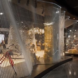 عکس - کاربرد طناب در طراحی داخلی فروشگاه Yellow Earth ، اثر استودیو طراحی TANDEM ، استرالیا