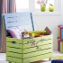 عکس - از تخته ها و جعبه های چوبی چگونه به عنوان مبلمان کودک استفاده کنیم؟