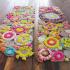 عکس - 15 روش آسان و جذاب برای تهیه یک قالیچه زیبا