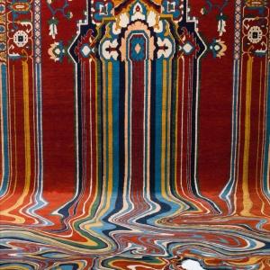 تصویر - فرشی مدرن با الهام از الگوهای سنتی - معماری