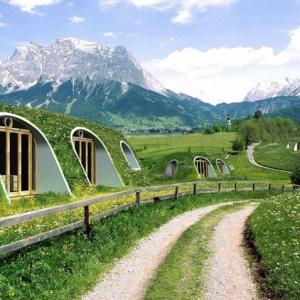 عکس - خانه سازگار با محیط زیست که تنها در عرض 3 روز ساخته می شود