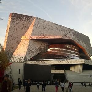 عکس - بنای کنسرت فیلارمونیک پاریس , برای آنها که از موسیقی کلاسیک هراس دارند