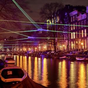 تصویر - تصاویری از فستیوال نور 2015-2016 ،در آمستردام - معماری