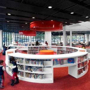 تصویر - کتابخانه Chinatown Branch ، اثر تیم معماری SOM ، آمریکا - معماری