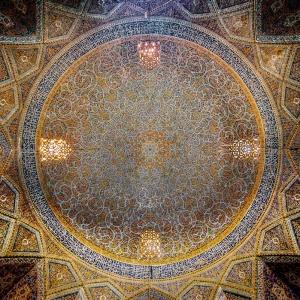 تصویر - سقف در بناهای تاریخی ایران - معماری