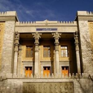 عکس - باغ ملی، میدان مشق ،, کاخ شهربانی ،معماری نئوکلاسیک ایرانی