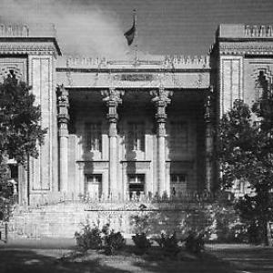 تصویر - باغ ملی، میدان مشق ،, کاخ شهربانی ،معماری نئوکلاسیک ایرانی - معماری