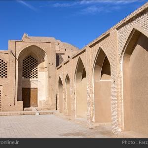 تصویر - تحول معماری اسلامی در مسجد جامع اردستان - معماری