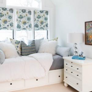 عکس - تختخوابهایی با امکان ذخیره سازی لوازم