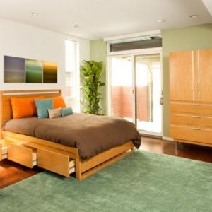 تصویر - تختخوابهایی با امکان ذخیره سازی لوازم - معماری