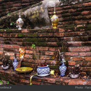 تصویر - شهر سوخته آیوتایا ، تایلند - معماری