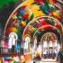 عکس - تبدیل کلیسای 100 ساله به زمین اسکیت رنگارنگ