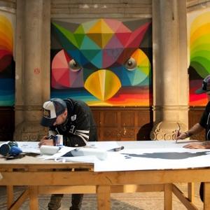 تصویر - تبدیل کلیسای 100 ساله به زمین اسکیت رنگارنگ - معماری