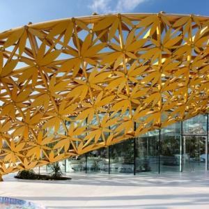 تصویر - طراحی پاویون پروانه ای ،اثر استودیو 3deluxe ،امارات - معماری