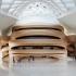 عکس - معماری تندیس گون خانه اپرای شهری در چین