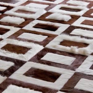 عکس - فرش های مدرن چرمی