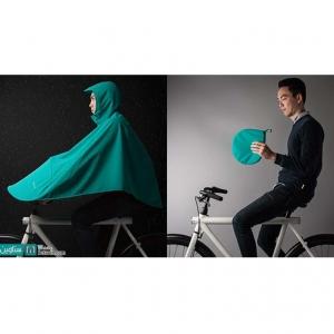 عکس - بارانی برای دوچرخه سواران