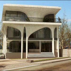 تصویر - حمید گودرزی، کارفرمای خانه بازیگر  - معماری