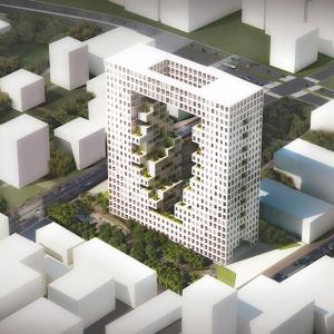 عکس - برج مسکونی اکولوژیک ونداد، اثر استودیو challenge و تیم طراحی em-sys ، ایران