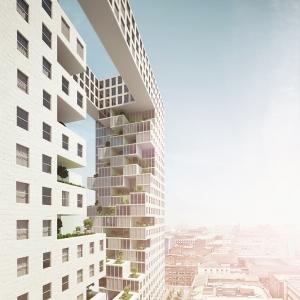 تصویر - برج مسکونی اکولوژیک ونداد، اثر استودیو challenge و تیم طراحی em-sys ، ایران - معماری
