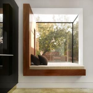 عکس - ایده هایی برای پنجره های مدرن جلو آمده(پنجره خلیجی)
