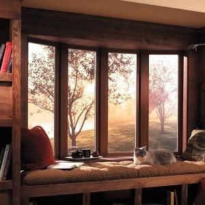 تصویر - ایده هایی برای پنجره های مدرن جلو آمده(پنجره خلیجی) - معماری