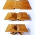 عکس - طراحی جالب توجه میزی از جنس بامبو
