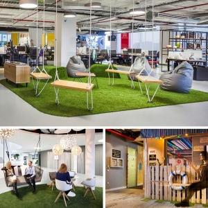 تصویر - تداعی 8 نمونه فضای بازی جالب بزرگسالان در فضاهای اداری - معماری