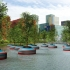 عکس - ایجاد جنگل شناور در شهر روتردام هلند