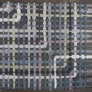 تصویر - تابلو فرشهایی که از تزریق فوم مایع شکل گرفته اند. - معماری