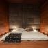 عکس - جزئیات طراحی:اتاق خواب آپارتمانی واقع در اوکراین
