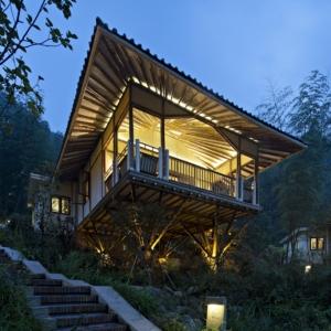 تصویر - ویلا بامبو ،زندگی در طبیعت ، اثر تیم معماری C&C DESIGN، چین - معماری