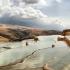 عکس - تهدید یک جاذبه گردشگری،رالی روی چشمههای باداب سورت