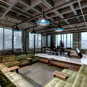 تصویر - دفتر مرکزی کارخانه نساجی V ،اثر تیم طراحی Zemberek Design ،ترکیه - معماری
