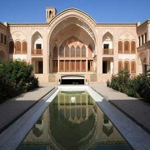 عکس - معماری هوشمندانه ایرانی در خانههای تاریخی کاشان