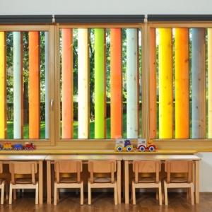 تصویر - نمای خلاقانه و رنگارنگ مهدکودکی در اسلوونی - معماری