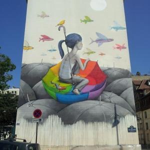 تصویر - تبدیل نماهای خسته کننده شهری به آثار هنری بی نظیر توسط هنرمند فرانسوی - معماری