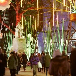 عکس - تصاویری از جشنواره نور Lumiere London